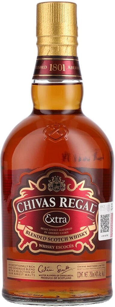 Chivas Regal Extra Whisky Escocés de Mezcla