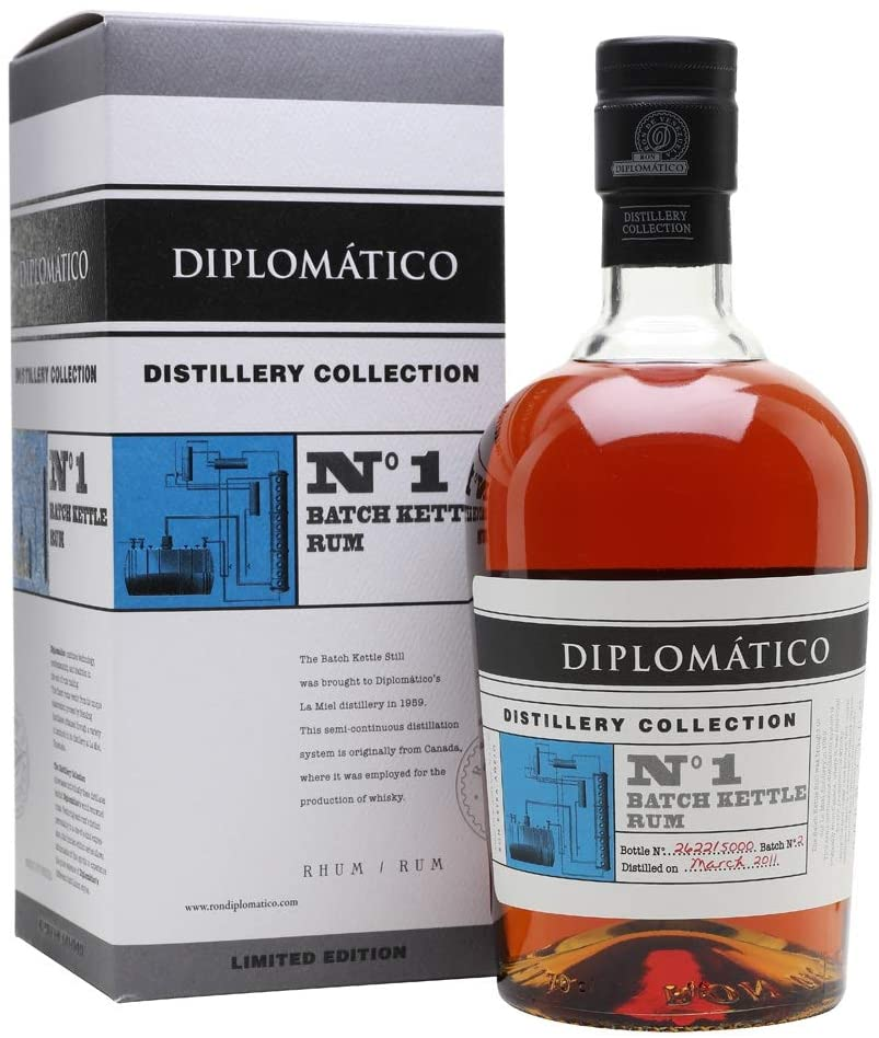 Diplomatic Ron Nº1 Batch Kettle