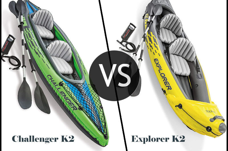 Intex Challenger VS Explorer K2 Kayak