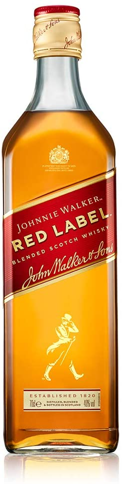 Johnnie Walker Whisky Red escocés
