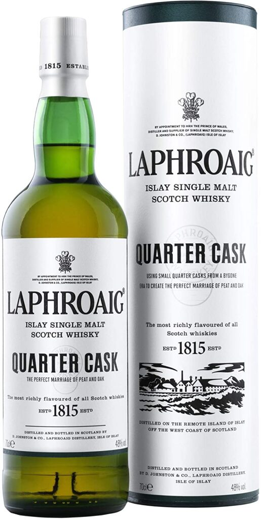 Laphroaig Quarter Cask Single Malt Whisky Escoces Ahumado