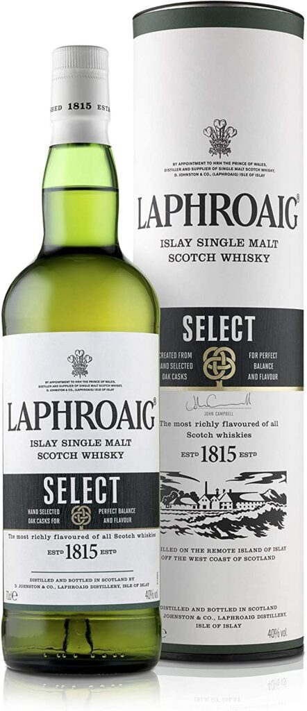 Laphroaig Select Single Malt Whisky Escoces Ahumado