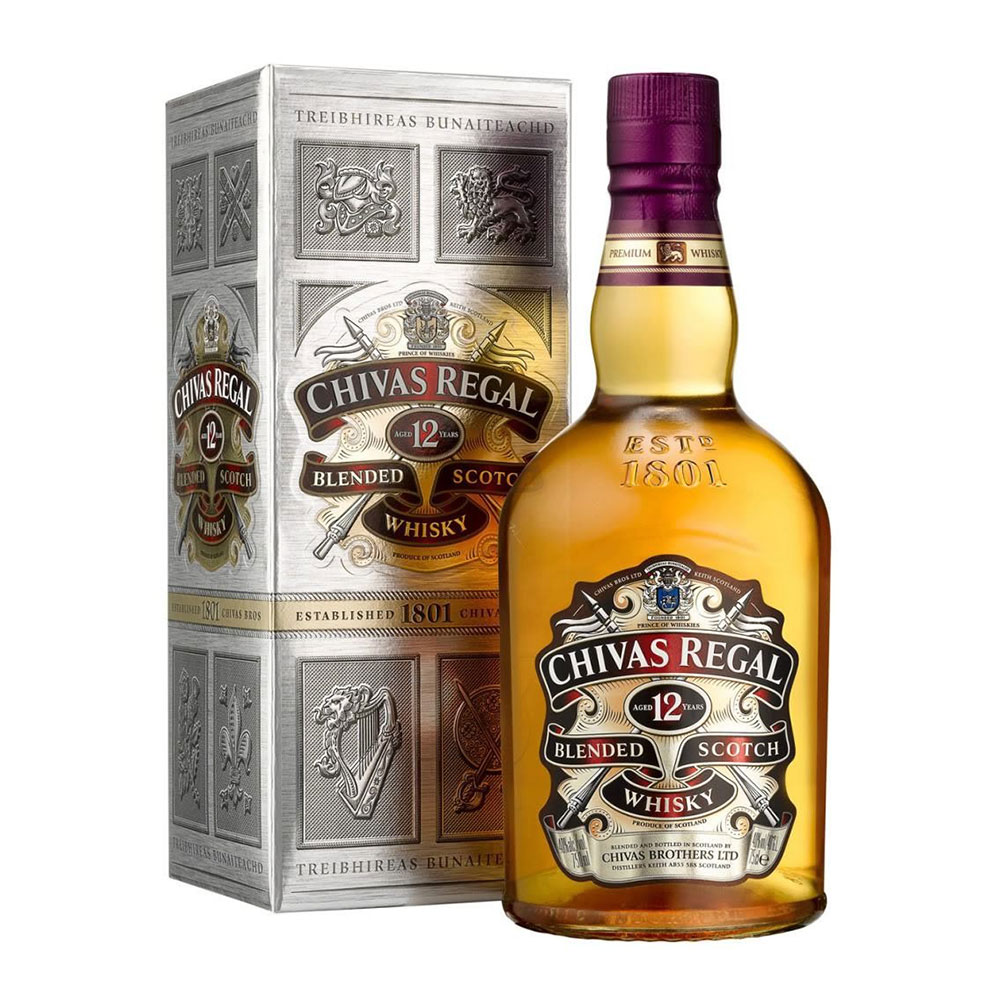 Blended Whisky Chivas Regal 12 Años