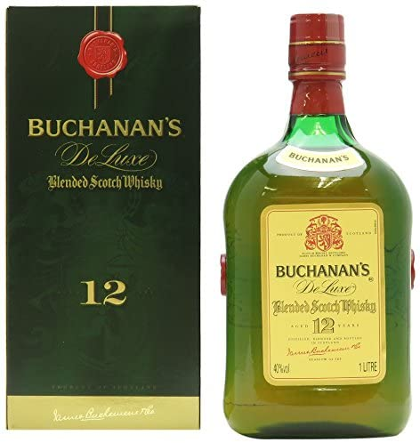 Buchanan's 12 Años Blended Whisky