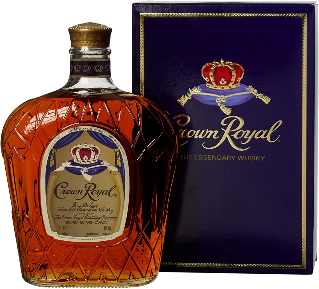 Crown Royal Fine Deluxe Blended Whisky