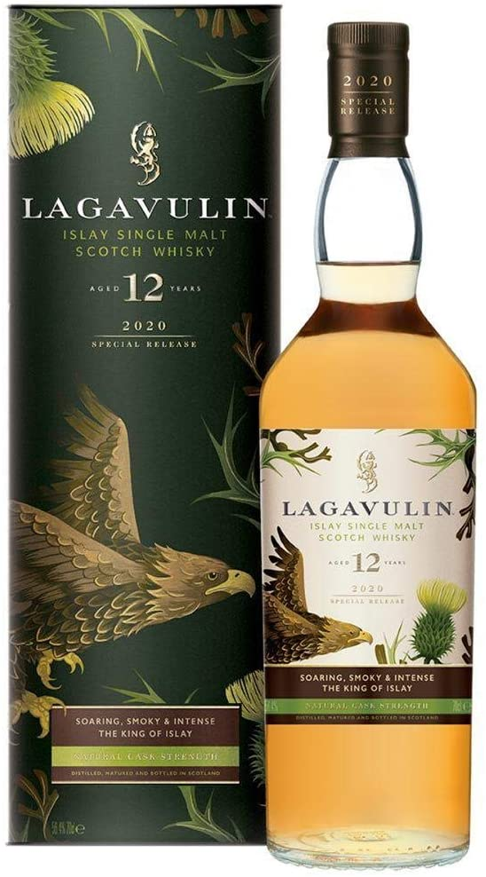 Lagavulin whiskey 2020 Special Release - 2007 12 Años