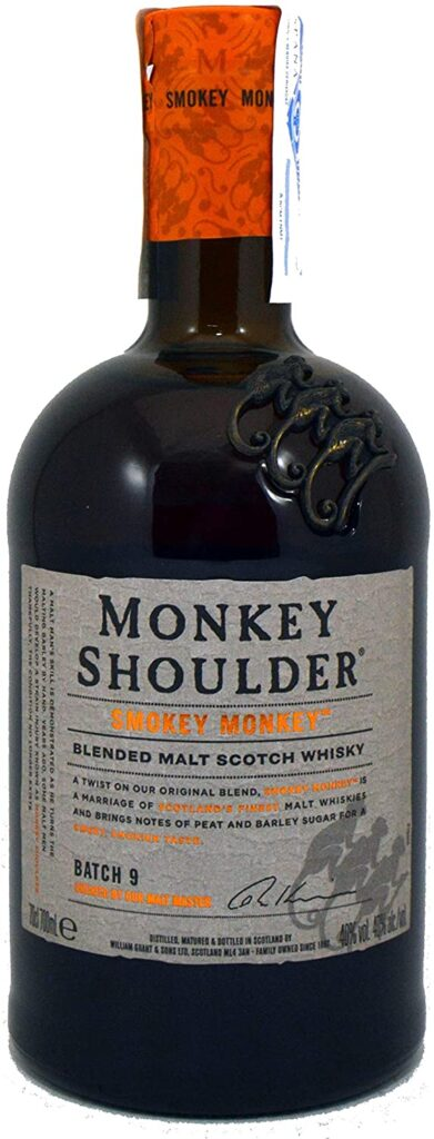 Monkey Shoulder SMOKEY MONKEY Blended Malt Scotch Whisky