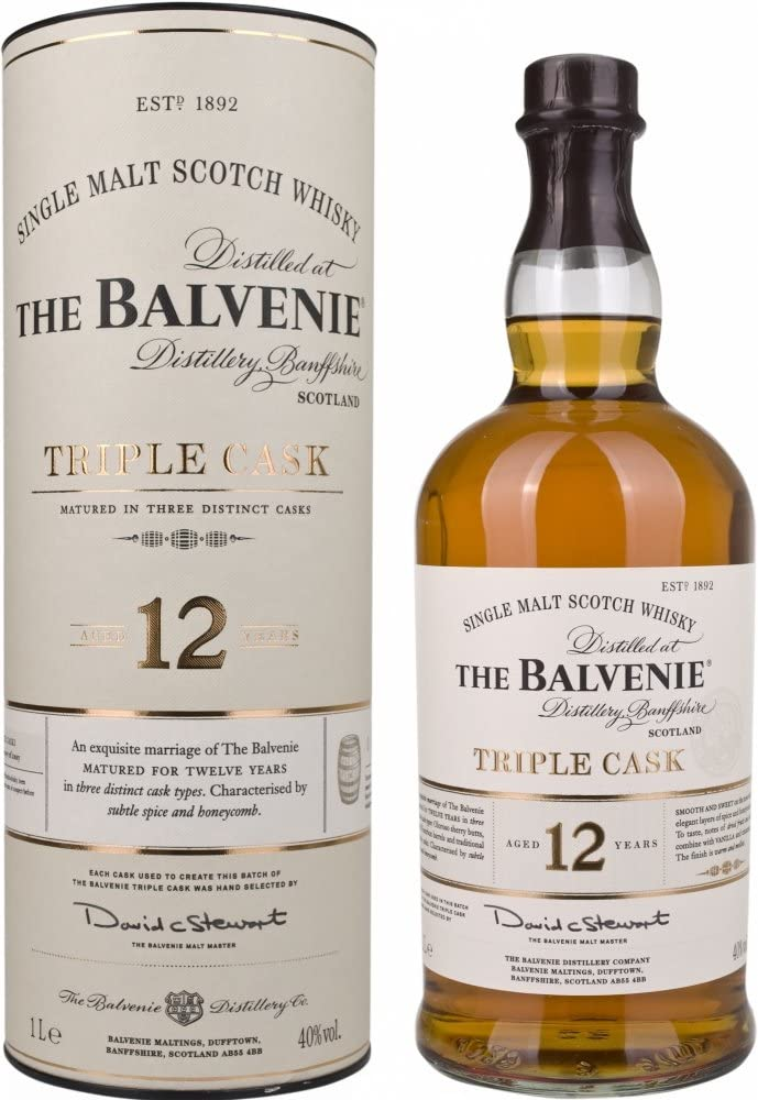 Whisky The Balvenie 12 años Triple Cask Single Malt Whisky