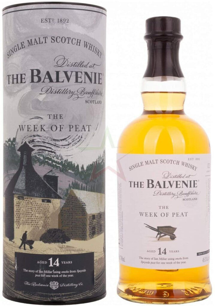 Whisky The Balvenie Stories The Week Of Peat 14 años