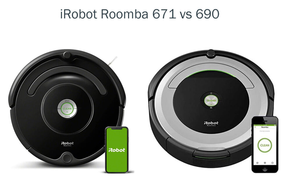 iRobot Roomba 671 vs 690